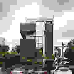 Casas de estilo industrial de 木耳生活藝術 Industrial