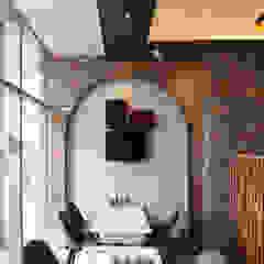 레스토랑 - 라온삼계탕 by IDA - 아이엘아이 디자인 아틀리에 러스틱 (Rustic) 벽돌