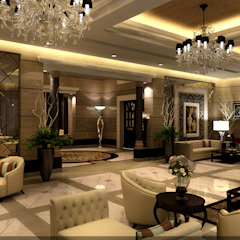 مشروع فيلا سكنية الرياض (السعودية) من smarthome حداثي