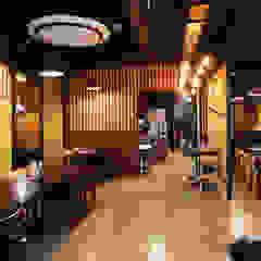 일본식 샤브샤브 - 그림나베 남부터미널점 by IDA - 아이엘아이 디자인 아틀리에 에클레틱 (Eclectic) 우드 우드 그레인