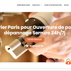 Serrurier Paris van SERRURIER PARIS Modern Hout Hout