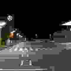 """Подсветка автосалона """"MERCEDES-BENZ"""" Автосалоны в стиле минимализм от Центр Технического Света Минимализм Стекло"""
