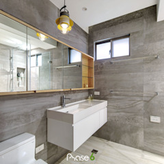 Eclectic style bathroom by 六相設計 Phase6 Eclectic