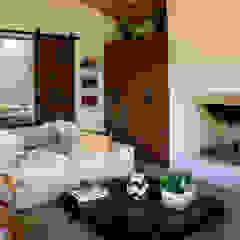Casa AV, Etapa 1 Salas de estilo rústico de Gamma Rústico