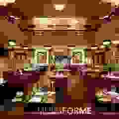 MULTIFORME® Lighting— Люстры кастом из муранского стекла для Ten Room и лобби Hotel Café Royal. от MULTIFORME® lighting Классический
