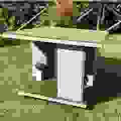 od Pet House Design® Nowoczesny Drewno O efekcie drewna