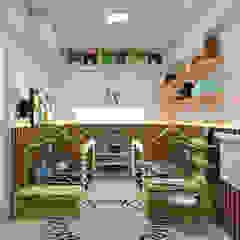 من ALENCAR Arquitetura   Interiores إنتقائي MDF