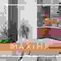 من Maxima Studio Medan Interior Design & Arsitek تبسيطي خشب Wood effect