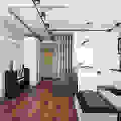 Phòng giải trí phong cách công nghiệp bởi Goroh бюро Công nghiệp