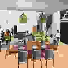 Casa de Playa Antonia Comedores de estilo moderno de Arq. Bruno Agüero Moderno