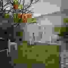 Hiên, sân thượng phong cách hiện đại bởi عبدالسلام أحمد سعيد Hiện đại