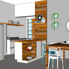 por Estudio61.ArquiDecor Tropical