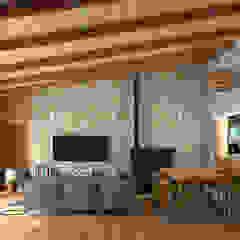 Ruang Keluarga Gaya Mediteran Oleh arQmonia estudio, Arquitectos de interior, Asturias Mediteran