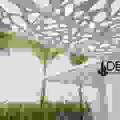Techos sol y sombra Balcones y terrazas modernos de DecoPaneles Peru Moderno