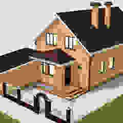 من Arprojects | Проектирование домов صناعي الطوب