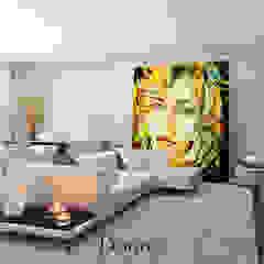 Apartamento Montijo Salas de estar modernas por Donna - Exclusividade e Design Moderno