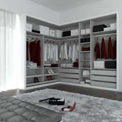 Ruang Ganti Modern Oleh Redbee Modern