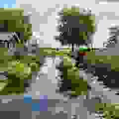 Landschappelijke poldertuin van De Tuinregisseurs Landelijk