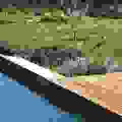 Jardim Natural- Quinta nos arredores de Lisboa Piscinas rústicas por Maria Mayer | Interior & Landscape Design Rústico