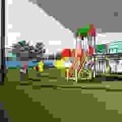 Taman Minimalis Oleh VillaSi Construcciones Minimalis
