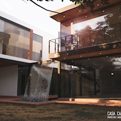 by Proyectos Arquitectura + Interiorismo Rustic