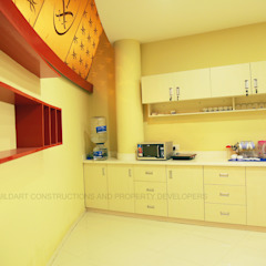 interiors in trivandrum Asian style kitchen by buildartinterior Asian