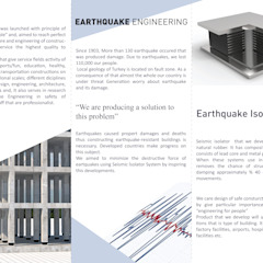 Earthquake Isolation Akçay Teknik Mühendislik Mimarlık Endüstriyel Demir/Çelik