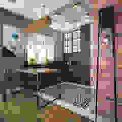Nevi Studio Small kitchens Bricks