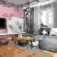 Nevi Studio Living room Bricks