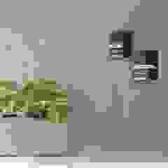 APARTAMENTO LAURA & JUAN Paredes y pisos de estilo moderno de Maana Espacios con sentido Moderno