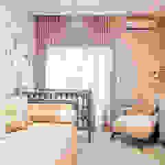 Quarto Bebê Safari R|M por Carolina Fagundes - Arquitetura e Interiores Clássico