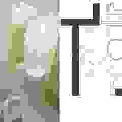 Casas de banho asiáticas por 大觀創境空間設計事務所 Asiático