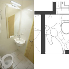 Asian style bathrooms by 大觀創境空間設計事務所 Asian