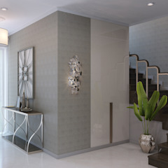 Classic corridor, hallway & stairs by Wide Design Group Classic
