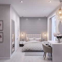 Classic style bedroom by Wide Design Group Classic