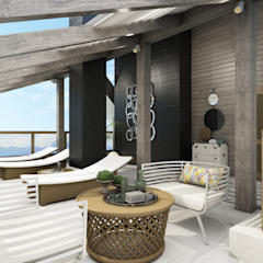 Classic style balcony, porch & terrace by Wide Design Group Classic