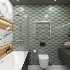 Baños de estilo escandinavo de Wide Design Group Escandinavo
