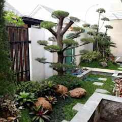 Jasa Tukang Taman Oleh Tukang Taman Surabaya - Tianggadha-art Minimalis Batu