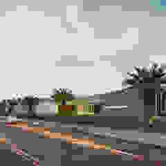ออกแบบโรงแรม โดย LEK ARCHITECT โมเดิร์น