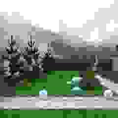 de Белый сад Minimalista Madera Acabado en madera