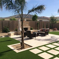 Landscaping by Delight Gardening and Irrigation Service's Modern Rubber