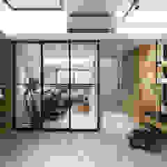 توسط 你你空間設計 صنعتی چوب Wood effect