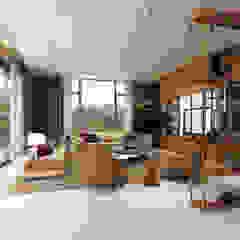 Sala de estar - Moradia em Felgueiras Salas de estar modernas por Alpha Details Moderno