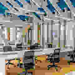 Modern study/office by Grupo enobra Modern Wood Wood effect