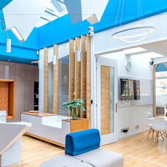 Modern living room by Grupo enobra Modern Wood Wood effect