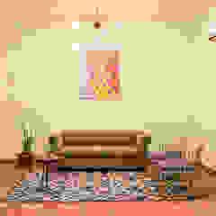 トロピカルスタイルの 寝室 の Designs by Sunakshi トロピカル