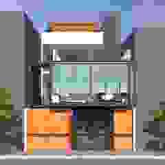 VIVIENDA UNIFAMILIAR Casas modernas: Ideas, diseños y decoración de TECTONICA STUDIO SAC Moderno