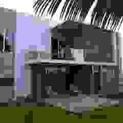 Balcones y terrazas de estilo tropical de URITA arquitectos Tropical