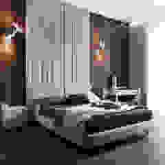 Minimalist bedroom by Студия архитектуры и дизайна Дарьи Ельниковой Minimalist