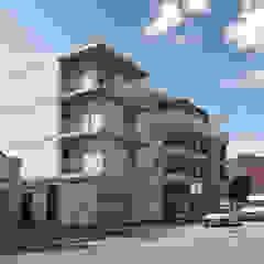 Edifício na Praia da Barra por Sónia Cruz - Arquitectura Minimalista Betão